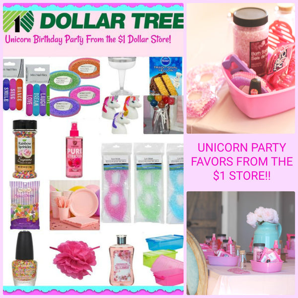 Unicorn Birthday Party on a Budget!