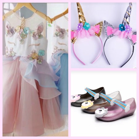 Unicorn Birthday Outfit and Party Ideas & Unicorn Birthday Outfit u0026 Party Ideas for Girls Unicorn Girl Dress
