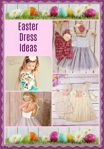 Easter Dresses for Girls, Easter Craft Ideas, Easter Eggs