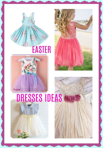 Toddler Easter Dresses, Easter Egg Ideas, Easter Basket Ideas
