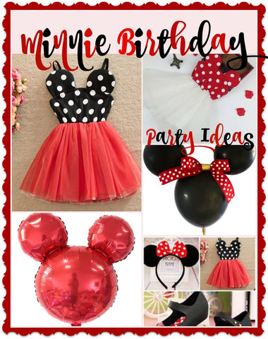Minnie Mouse Birthday Party Ideas Minnie Mouse Dress #minnie