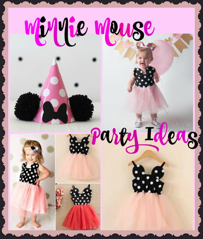 Minnie Mouse Dress for birthday party