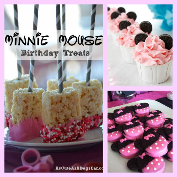Minnie Mouse Birthday Party Food Ideas