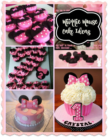 Minnie Mouse Dress with matching cake ideas