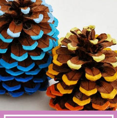 DIY Kids Halloween Fall Craft Ideas Pinecones