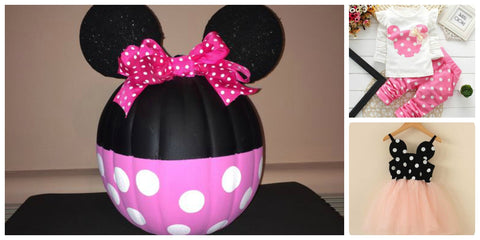 Minnie Mouse Pumpkin Carving Ideas for Kids, Disney Ideas