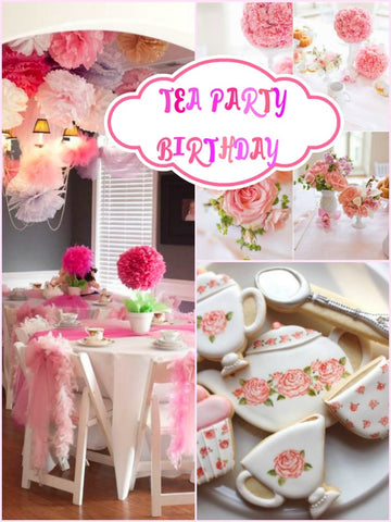 Tea Party Birthday Party Ideas
