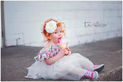 IceCream and Florals Dress
