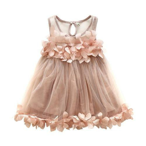 Floral Burst Girl Flower Summer Dress