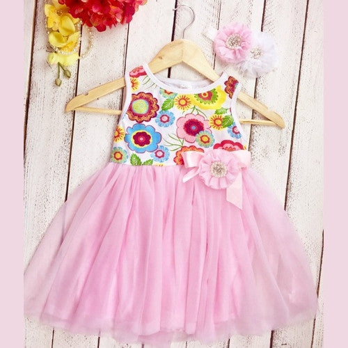 Harper's Combo Dress - Marili Jean Girl's Clothing Boutique