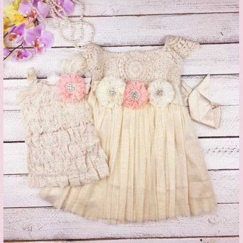 342d09696614 Matching Christmas Outfits for Sisters|Little Sister Dresses