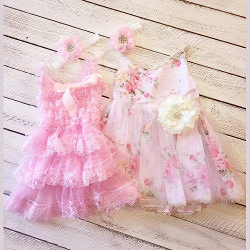 Field's of Lace Sister Dress Set