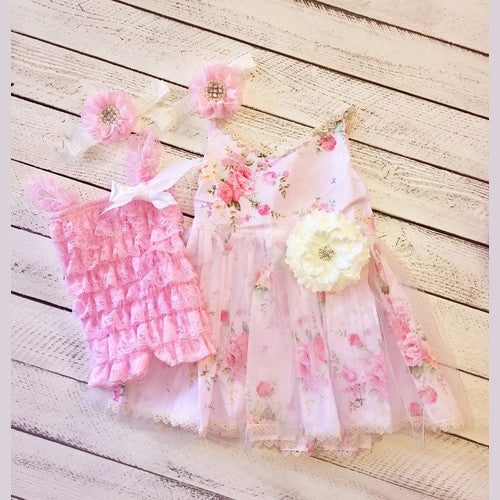 Summer Days Sister Set with Romper