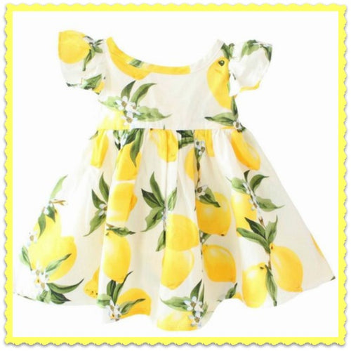 Lemonade Girl's Dress