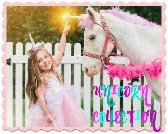 #unicorndress Girl Birthday Unicorn Dress