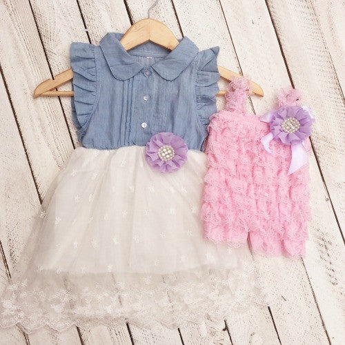 Julia's Matching Sister Dresses, fancy dresses for girls - Marili Jean Girl's Clothing Boutique