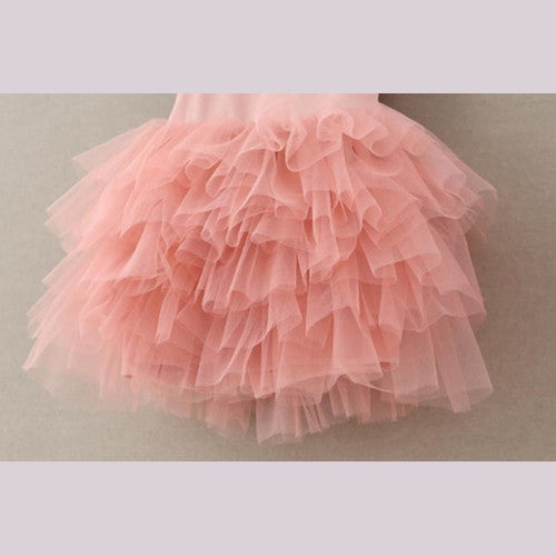 Harper Pink Tiered Girl and Toddler Dress