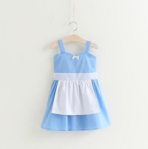 Alice in Wonderland Dress Up Dress for girl and toddler dress up and birthday party ideas