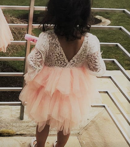 Girl Special Occasion Fancy Flower Girl Dress