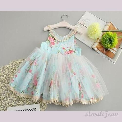 Fabulous is Floral Girl Dress