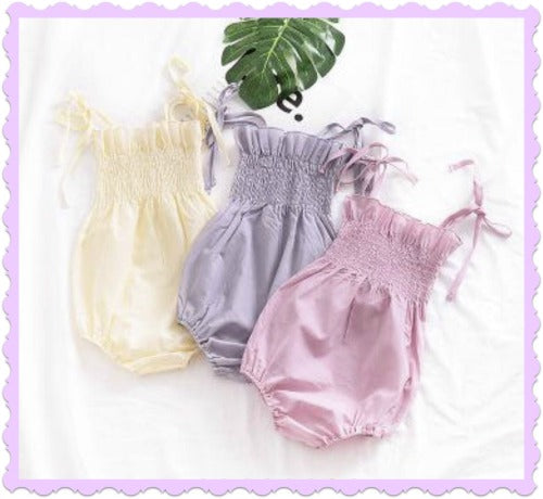 Pastels Bubble Rompers