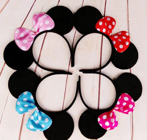 Minnie Mouse Girl and Toddler Headband