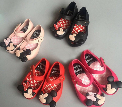 Minnie Mouse Girl Birthday Shoes