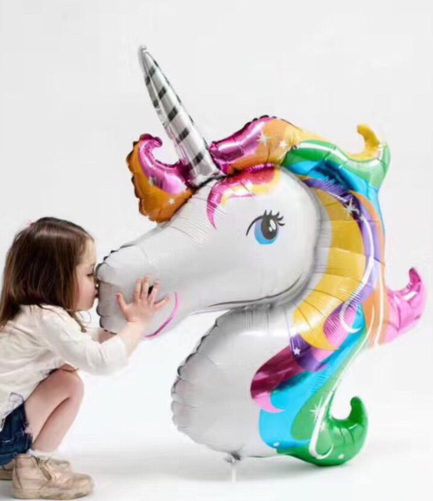 Unicorn Birthday Party Balloon