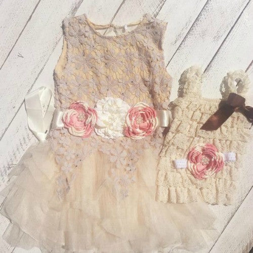 Maggie's Sister Dress Set - Marili Jean Girl's Clothing Boutique