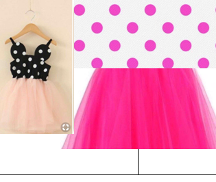 Minnie Birthday Mouse Dress PINK/WHITE