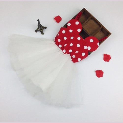 Minnie Mouse Birthday Dress Red