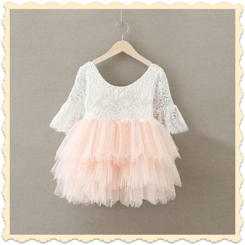 Lace Tutu Tulle Dress for Girls and Toddlers for Special Occasion