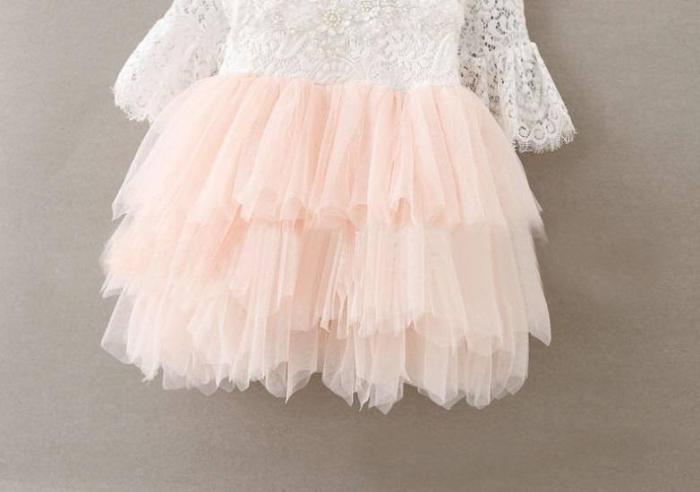 Tulle Girl Dress for Weddings and Special Occastions