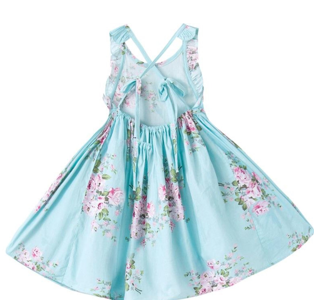 tea party garden party dress for girls and toddlers
