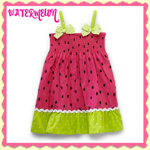 Watermelon Summer Dress