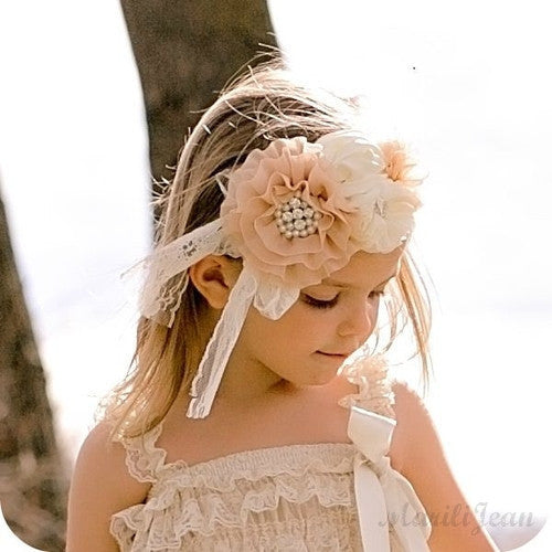 Amy's Lace Headband