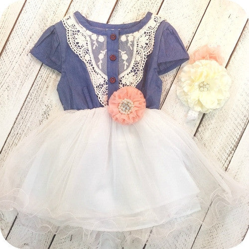 Cowgirl's Delight Combo Dress