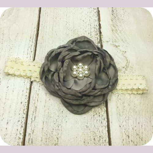 Poppy's Headband Grey