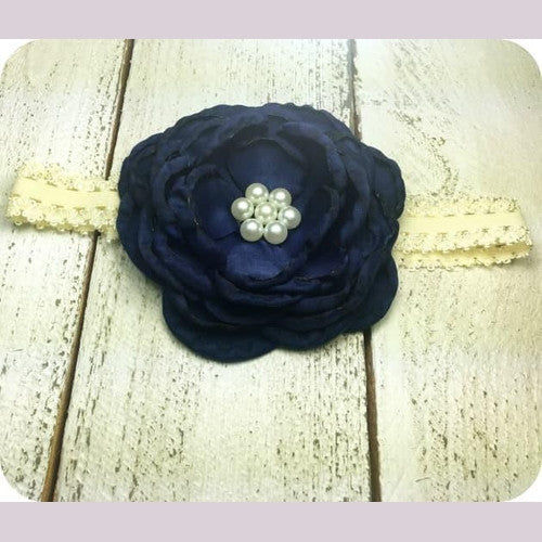 Poppy's Headband Navy