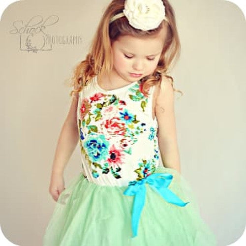 Avery's Garden Mint Dress