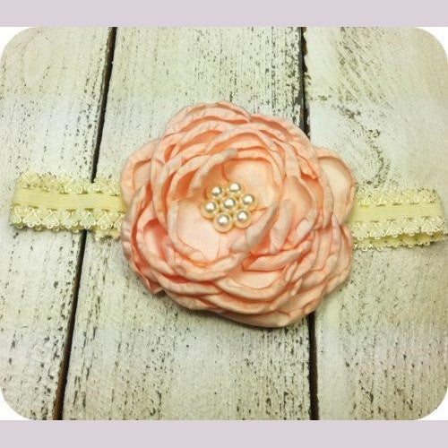 Poppy's Headband Peach