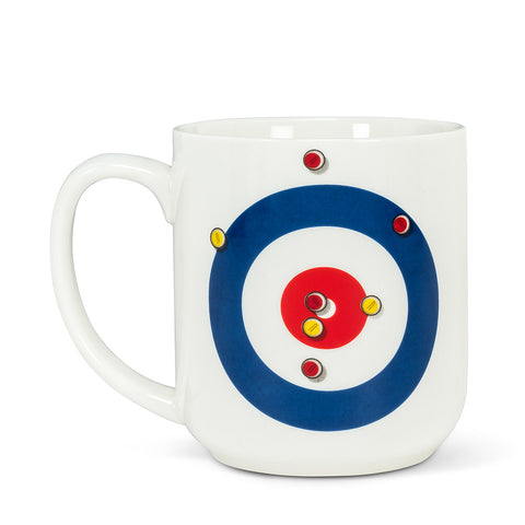 Curling House & Rocks Mug