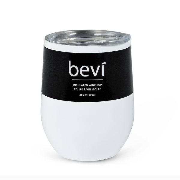 Bevi Insulated Wine Tumbler - White