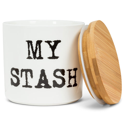 "Large ""My Stash"" Canister"
