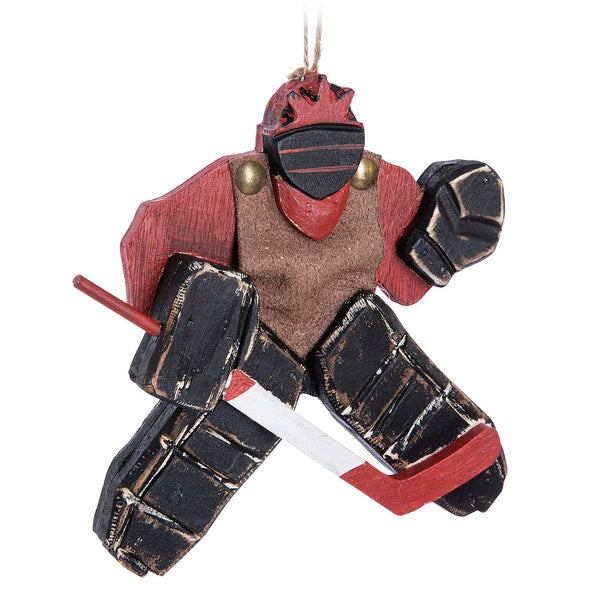 Goalie with Stick Ornament