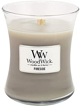Fireside WoodWick Candle, Medium