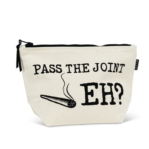 Pass the Joint Eh Zipper Pouch