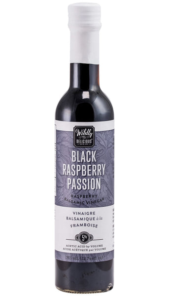 Black Raspberry Passion Balsamic Vinegar | Vinaigre Balsamique à la Framboise