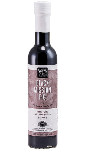 Black Mission Fig Balsamic Vinegar | Vinaigre balsamique aux figues