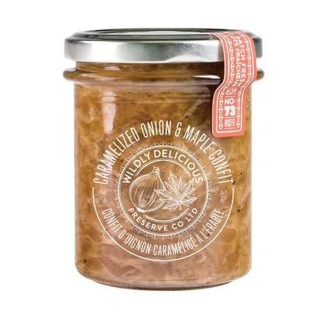 Caramelized Onion & Maple Confit | Confit l'oignon caramélisé à l'érable